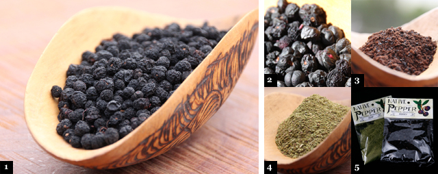 how to prepare mountain pepper